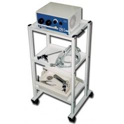 Carrello per ECG elettromedicali tre ripiani